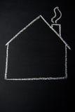 空的房子 免版税库存照片