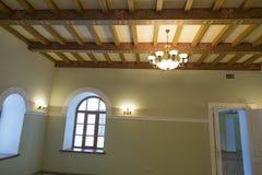空的房间装饰仿照19世纪样式 库存照片