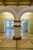空的房间装饰仿照19世纪样式 图库摄影