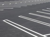空的批次停车 免版税库存照片