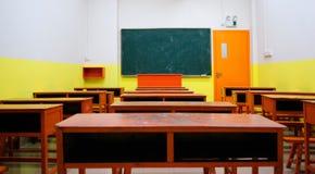 空的教室 免版税库存照片