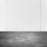 空的方形的抽象白色内部背景 库存图片