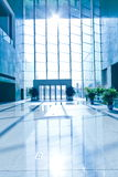 空的明亮的大厅 免版税库存图片