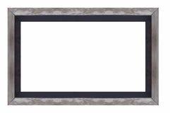 空的木照片框架 免版税图库摄影