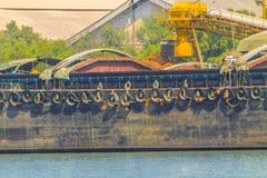 空的木薯驳船 免版税图库摄影
