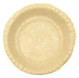 空的未加工的脆皮馅饼 库存图片