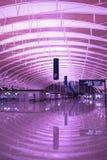 空的机场 免版税库存照片