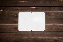 空的标准板料 图库摄影