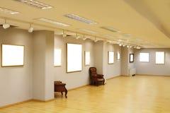 空的框架墙壁 免版税库存照片