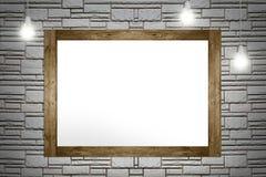 绘画空的框架  库存照片