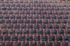 空的椅子在剧院 图库摄影