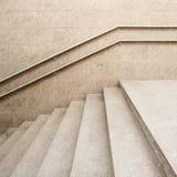 空的楼梯 免版税库存照片