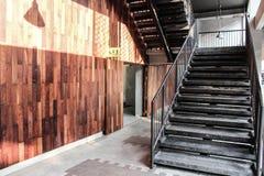 空的楼梯 免版税库存图片