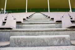 空的步在体育场内 免版税库存图片