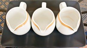 空的水罐瓷 免版税库存照片