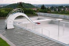 空的池游泳 库存图片