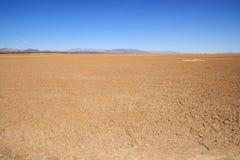 空的沙漠 免版税库存照片