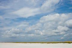空的海岸 免版税库存图片