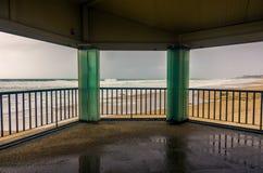 空的海滩 图库摄影