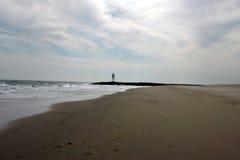 空的海滩 库存照片