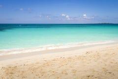 空的海滩 免版税库存照片