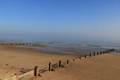 空的海滩 免版税图库摄影