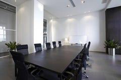 空的现代会议室 免版税库存图片