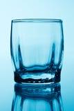 空的玻璃伏特加酒 库存照片