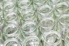 空的玻璃组瓶子 免版税图库摄影