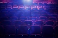 空的电影院 免版税图库摄影