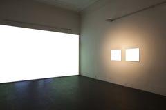 空的画廊 库存图片