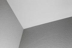 空的白色内部片段 角落 免版税库存照片