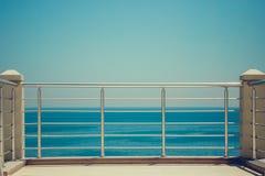 空的码头海运 图库摄影