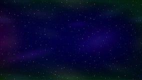 空的空间、蓝色和淡紫色无缝的圈 向量例证