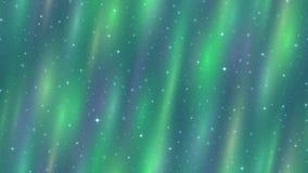 空的空间,北极光,无缝的圈 皇族释放例证