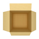 空的箱子 库存照片