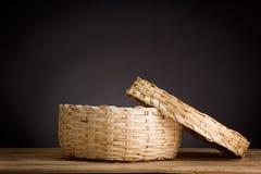 空的篮子 免版税库存图片