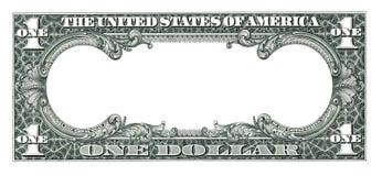 空的美元 库存图片