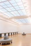 空的美术画廊 库存照片