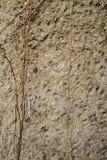 空的老墙壁纹理 Painted困厄了墙壁表面 脏的宽混凝土墙 难看的东西阻碍背景 ?? 免版税图库摄影