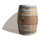 空的葡萄酒桶 图库摄影
