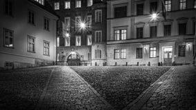 空的街道在一个雨天II 免版税库存图片
