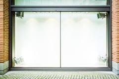 空的视窗显示 免版税库存照片