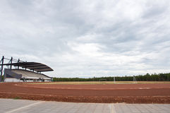 空的足球场 免版税图库摄影
