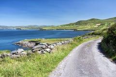 空的路爱尔兰0029 免版税库存照片