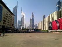 空的迪拜 免版税库存图片