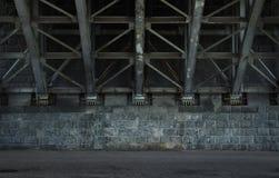 空的都市背景 免版税图库摄影