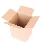空的配件箱开张 免版税图库摄影