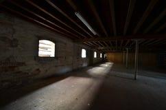 空的酿酒厂 免版税图库摄影