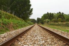 空的铁路 免版税库存照片